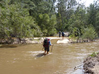 The 2nd Wolgan River crossing